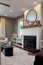 awesome farmhouse fireplace decorating