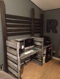 pallet furniture desk. Pallet Furniture Computer Desk Pallet