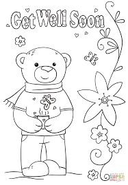 Small Picture Funny Get Well Soon coloring page Free Printable Coloring Pages