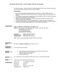 Security Engineer Resume Gorgeous Download Free Network Security Analyst Professional Resume 48