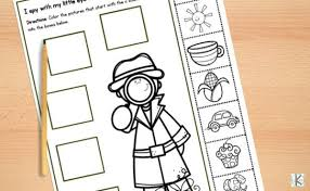 It is easy to print, download and use the kindergarten worksheets online. Free Beginning Sounds Worksheets