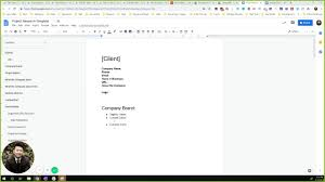 Easy How To Make A Document Template In Google Docs