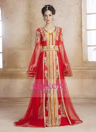 moroccan wedding dress. Contemporary Classy Gold and Red Modern Moroccan Wedding Dress Kaftan