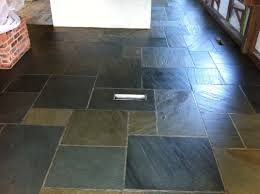 the example photos show a floor with a water based finish approximately 5 years old the amount of soil adhering to the uneven surface is evident