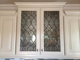 Etching Glass Cabinet Doors Glass Door Ideas