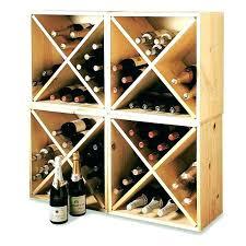 Diamond Wine Rack Plans Diamond Wine Rack Kit Cube Plans Cubes Wood