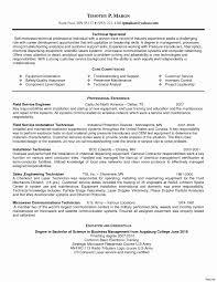 Audio Visual Technician Resume Sample Resume Work Template