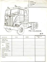 Peterbilt Paint Color Chart Painting Trucks Back In The 70s
