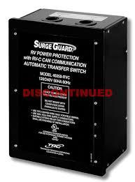 discontinued surge guard rvc compatible ats full rv power discontinued surge guard rvc compatible ats full rv power protection technology research llc