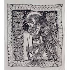 black and white mystic fairy wonderland tapestry wall hanging on royalfurnish 18 99 on black art tapestry wall hangings with black and white mystic fairy wonderland tapestry wall hanging on