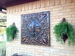 metal art outdoor wall decor