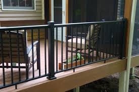 series aluminum railing by afco  decksdirect