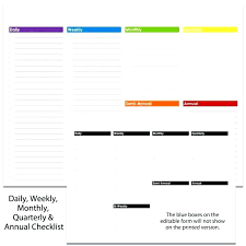daily calendar to print daily weekly monthly planner template calendar template to