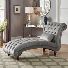 Knightsbridge Tufted Oversized Chaise Lounge by iNSPIRE Q Artisan - Free  Shipping Today - Overstock.com - 20712832