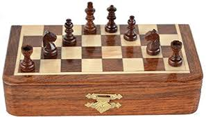 Handmade Wooden Board Games Gorgeous Amazon Classic Handmade Magnetic 32 Inch Chess Game With