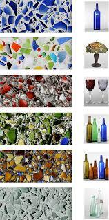glass cast colored glass
