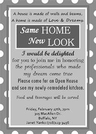Invitation To Open House Open House Invitation Custom Invite Home Remodeling Digital File