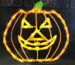 Lighted Halloween Jack O Lantern Pumpkin Window Silhouette About This Item.  ikea kitchen pictures. ...