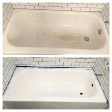 bathtubs spray refinish bathtub details about rust oleum tub tile refinishing kit porcelain paint bathtub