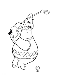 Small Picture Golf coloring pages to download and print for free