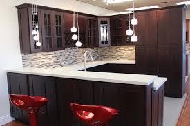 Backsplash For Dark Cabinets Kitchen Backsplash Ideas With Dark Cabinets Monsterlune