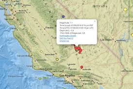 The usgs says the real threat comes from smaller earthquakes occurring in the san andreas fault zone. Earthquake Live Map Of 7 1 Magnitude California Quake And Aftershocks