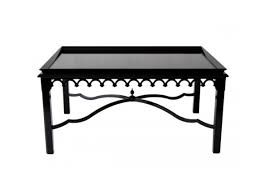 Laquered furniture Navy Black Lacquer Is Quite Sophisticated Coffee Table From Oomph Lacquered Furniture Sharon Mccormick Design