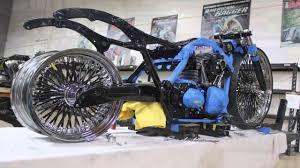 cadillac motorcycle custom built bagger see it at daytona bike