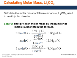 7 5 Molar Mass And Calculations Ppt Download