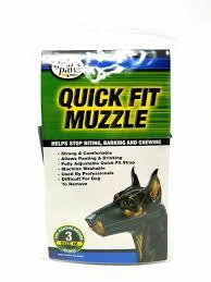 Four Paws Quick Fit Dog Muzzle Size 3
