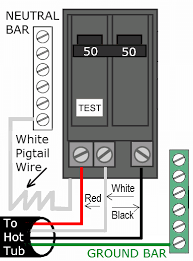 gfci wiring diagram breaker wiring diagram 240v gfci breaker wiring diagram wirdig