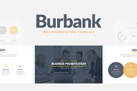 Business Proposal Powerpoint Burbank Free Business Proposal Presentation Template