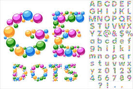 Bubble coloring alphabet letters from a to l in printable format. 30 Alphabet Bubble Letters Free Alphabet Templates Free Premium Templates