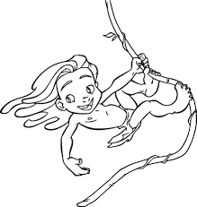 Small Picture Young Tarzan Ivy Coloring Pages Wecoloringpage