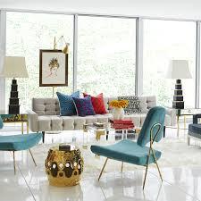 delphine side table  modern furniture  jonathan adler