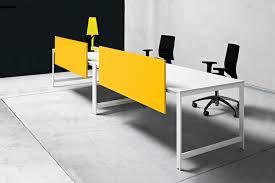Counter Top Desks Countertop Office Divider Glass Laminate K Word Manerba