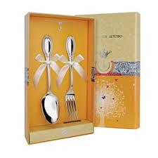 <b>Детский серебряный набор</b> столовых приборов: цена, каталог ...