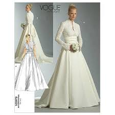 Wedding Dress Patterns To Sew Custom Wedding Dress Patterns