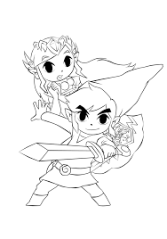 toon link coloring pages. Plain Coloring Toon Link Coloring Pages 52 With On L