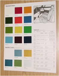 Porsche 911 Colors Chart Ars Motorcycles