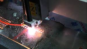 plasma metal cutting machine. cnc plasma cutting machine/ metal machine for hole on steel a