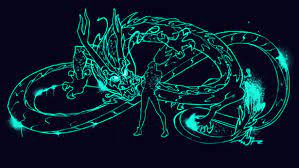 Neon Dragon Wallpaper (Page 1) - Line ...