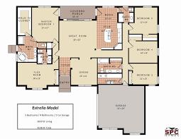 4 bedroom floor plans. One Level 4 Bedroom House Plan Beautiful Floor Plans Story And Single Five