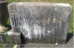 Myra Wade Gregg (1929-Unknown) - Find A Grave Memorial
