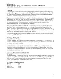 Student Agreement Contract Collective Bargaining Agreement