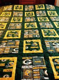 green bay packer twin size quilt by BOBBINSISTERS on Etsy https ... & Green bay packer twin size quilt Adamdwight.com