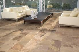 Porcelain Tiles For Kitchen Floors Kitchen Entry Idea 12x24 In Slate Tile Rustic And French Country
