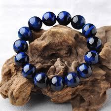 natural blue tiger eye stone bracelet