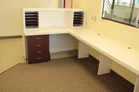 office counter desk. Custom Made U Shapped Plastic Laminate Reception Counter Office Desk N