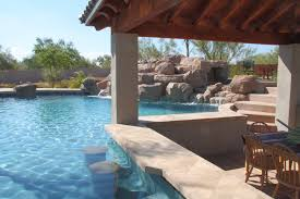 pool designs with swim up bar. Swim Up Bars In Your Own Backyard | Phoenix Landscaping Design With Pool Bar Designs R